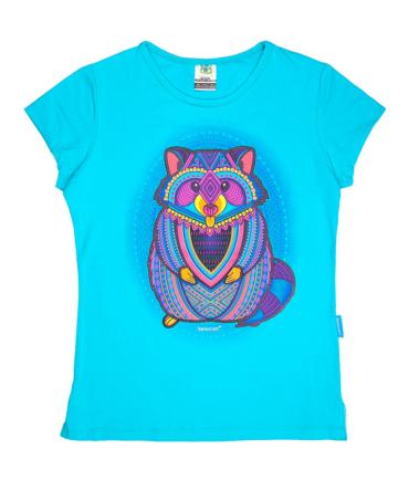 Playera-mujer-azul-mapachon