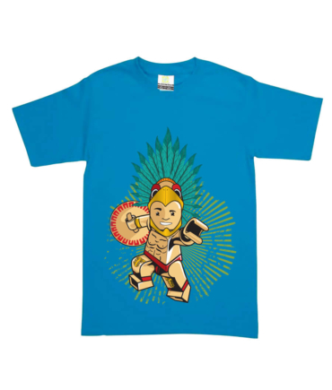 playera-lego-warrior-turqueza