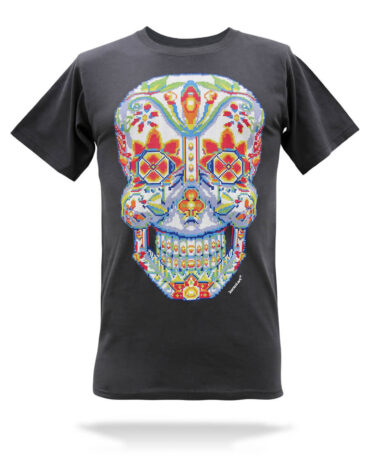 Playera-calavera-cross-stitch-carbon