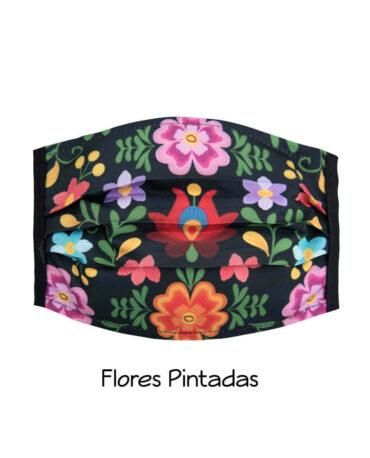 cubrebocas-flores-pintadas