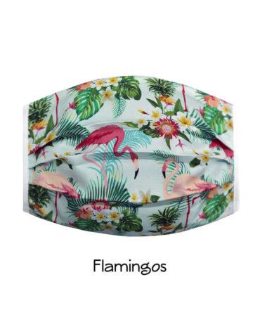 cubrebocas-Flamingos