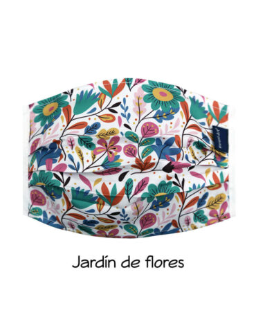 cubrebocas-Jardín-de-flores