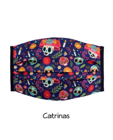 cubrebocas-Catrinas