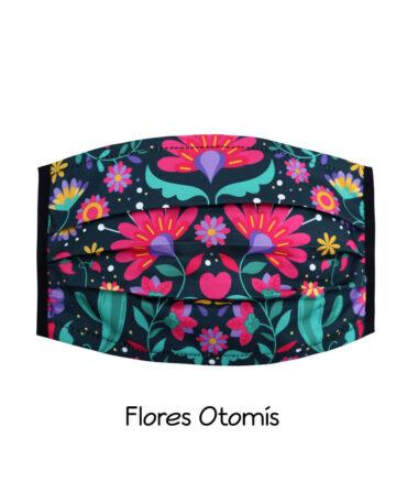 cubrebocas-Flores-Otomis
