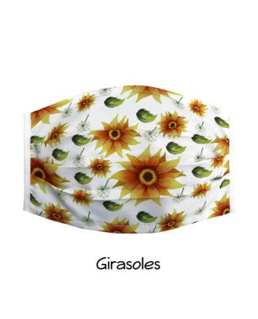 cubrebocas-Girasoles