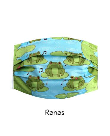 cubrebocas-Ranas