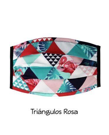 cubrebocas-Triangulos-rosa