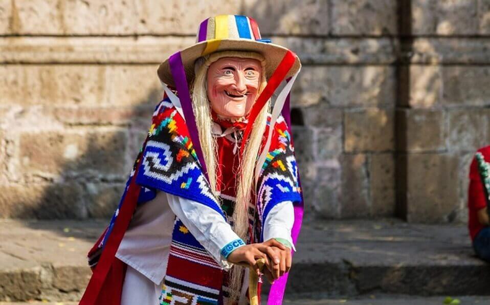 La danza regional de los viejitos