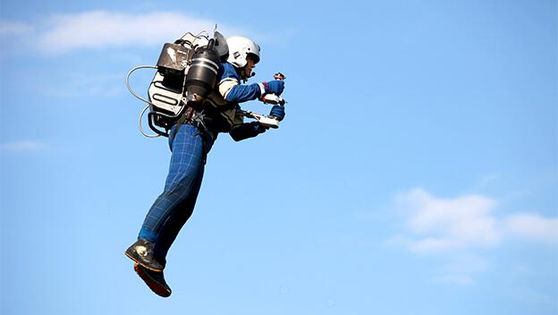 El jet pack es un invento mexicano