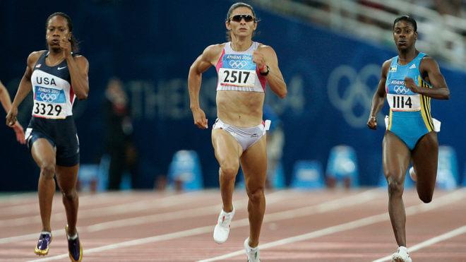 Ana Gabriela en Juegos Olímpicos