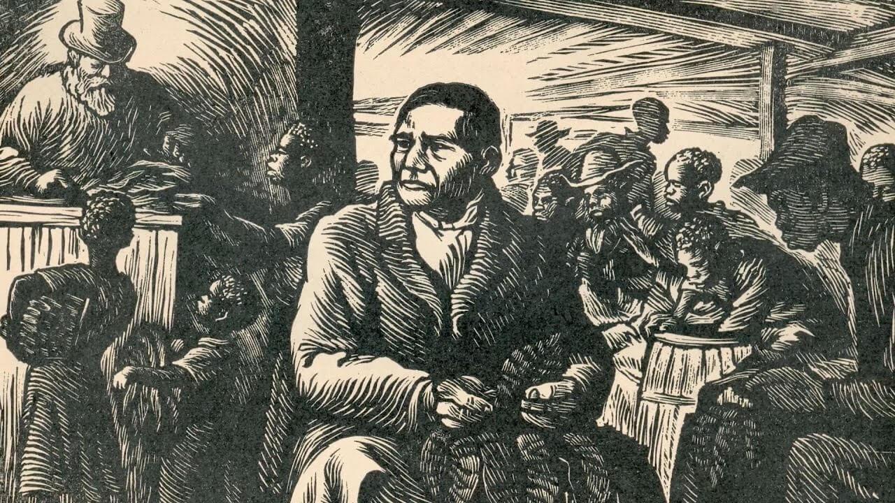 Benito Juárez en su juventud