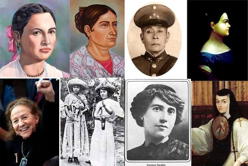 Grandes mujeres mexicanas en la historia