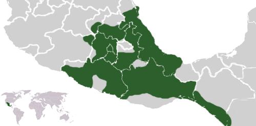 Dominios del imperio azteca