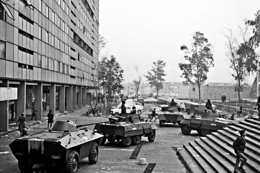 tanques mexicanos en calles