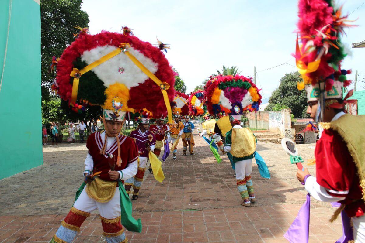 danzantes de la pluma