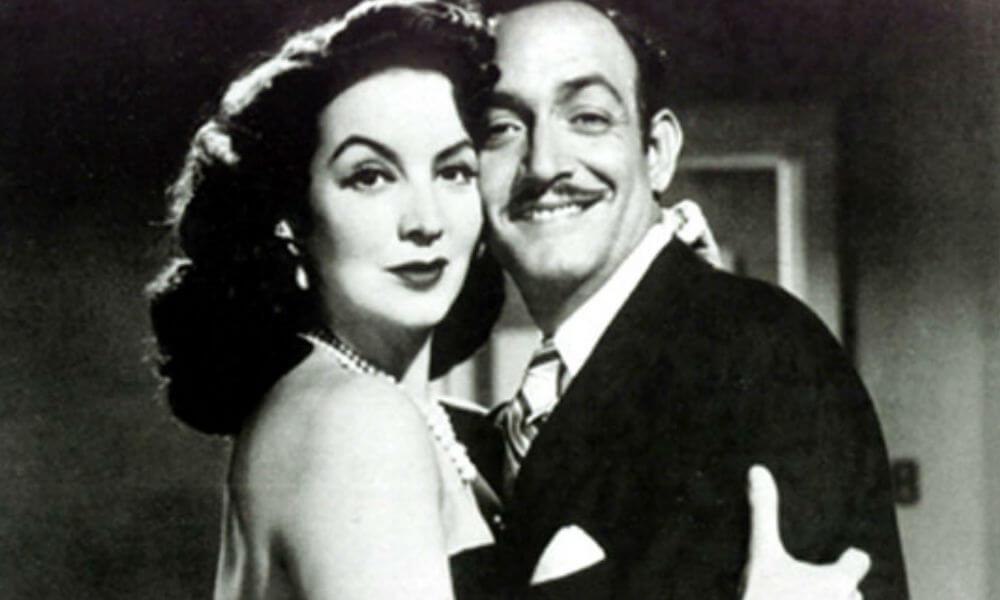 María Félix y Jorge Negrete