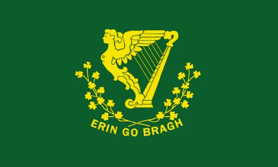 bandera del batallón de san patricio