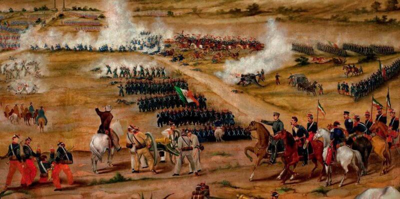 Ejércitos en la batalla de puebla