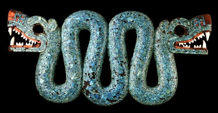 serpiente azteca de dos cabezas