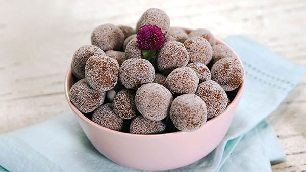 bolas de dulce de tamarindo