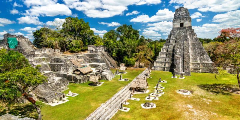 ciudad maya de tikal