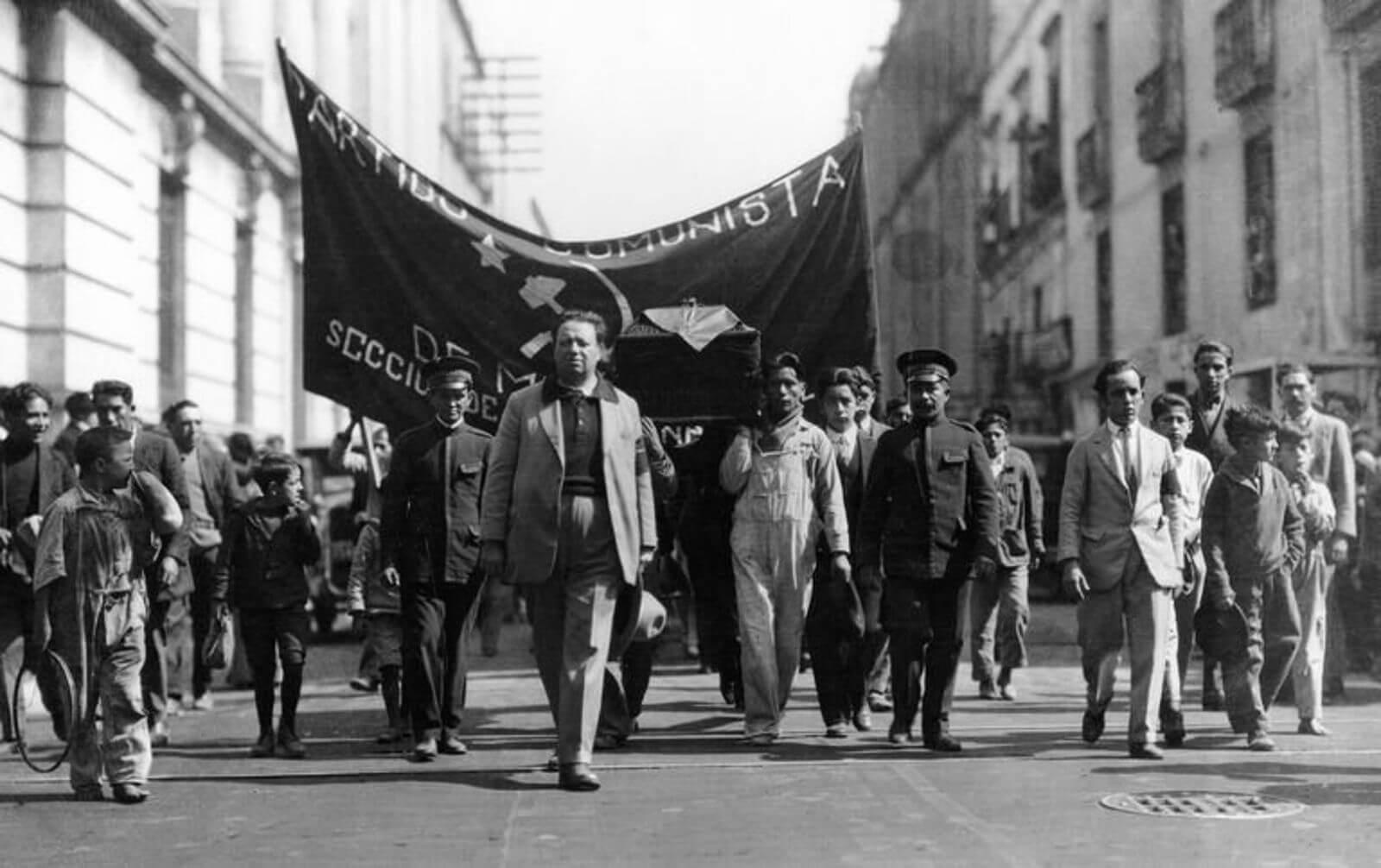 Marcha del partido comunista mexicano