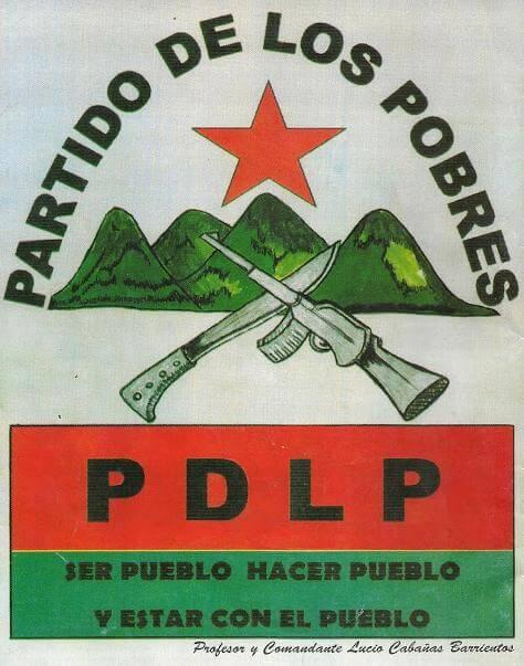 Imagen del partido de los pobres durante la guerra sucia
