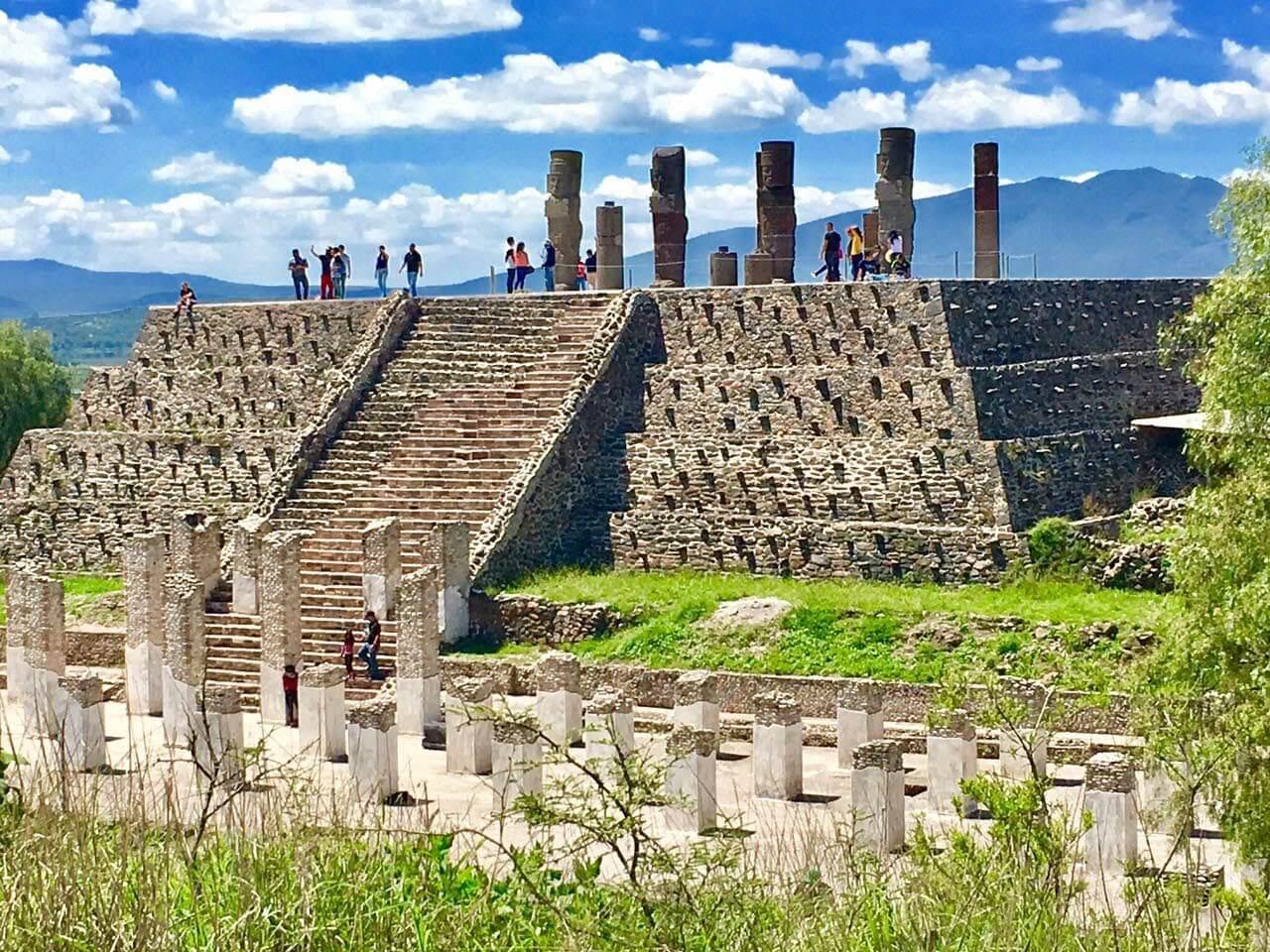 centro ceremonial de los toltecas