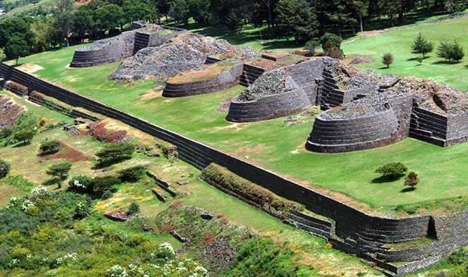 Asentamientos purépechas en Michoacán