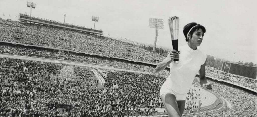 Relevo de antorcha olímpica de México 68