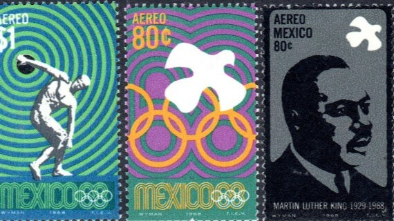 tickets de México 68